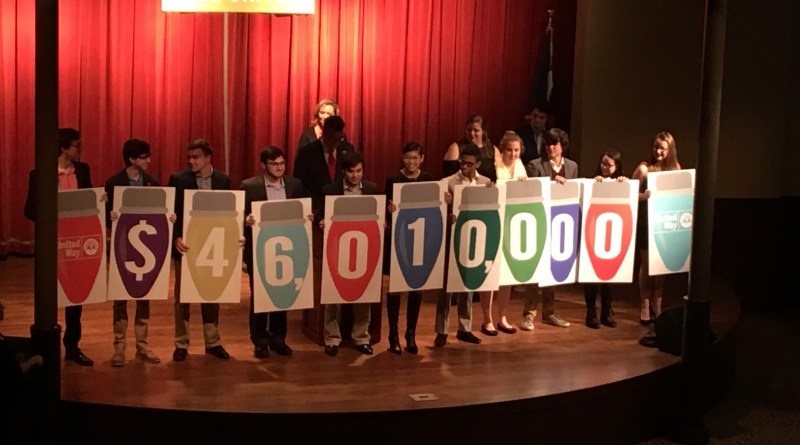 Compassionate giving tops United Way goal paving way for good year