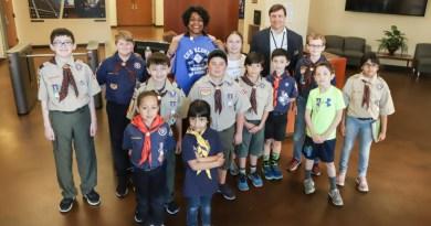 Cub Scout Visit