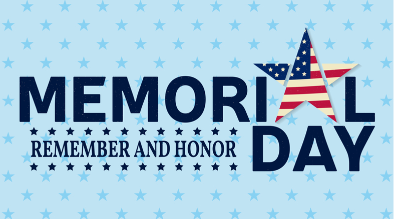 CPS ENERGY OFFICES CLOSED FOR MEMORIAL DAY