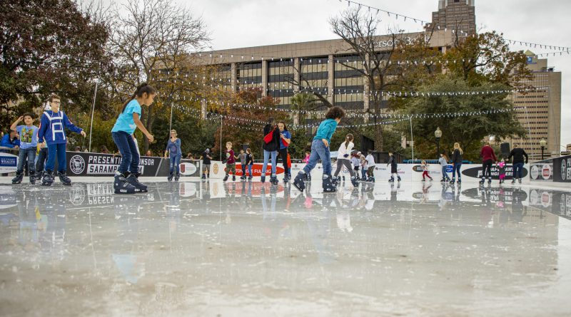 CPS Energy crews make San Antonio's first-ever outdoor ice rink a reality