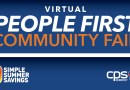 People first community fair flyer