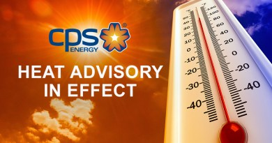 Heat Advisory CPS Energy Graphics