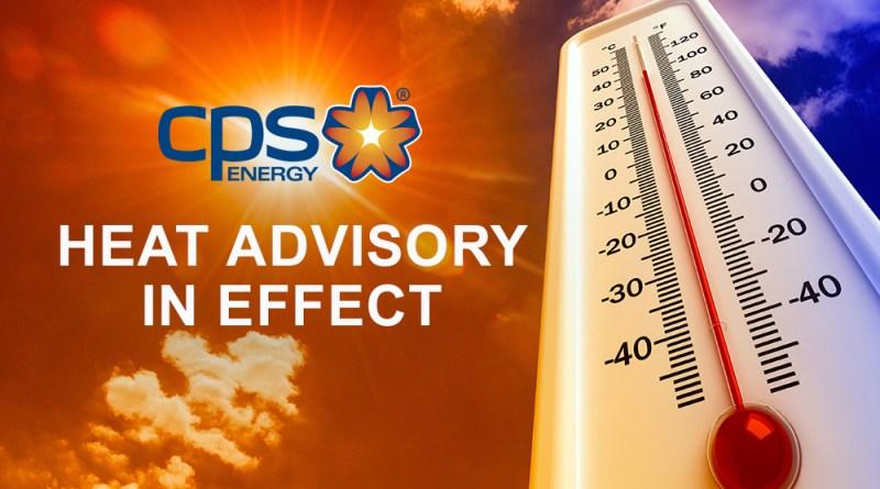 Heat Advisory CPS Energy Graphics