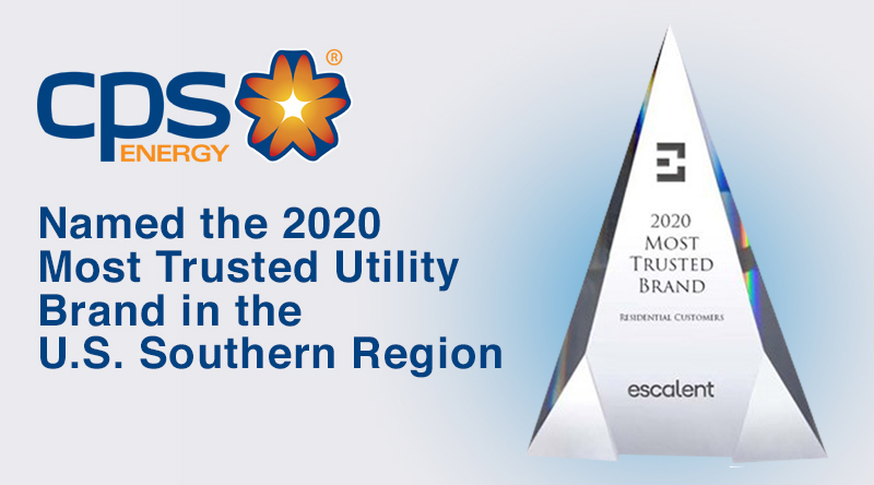 2020 Most Trusted Brand Escalent Award