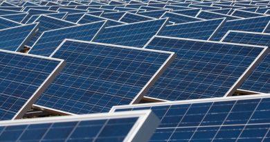 Miles of solar panels in San Antonio