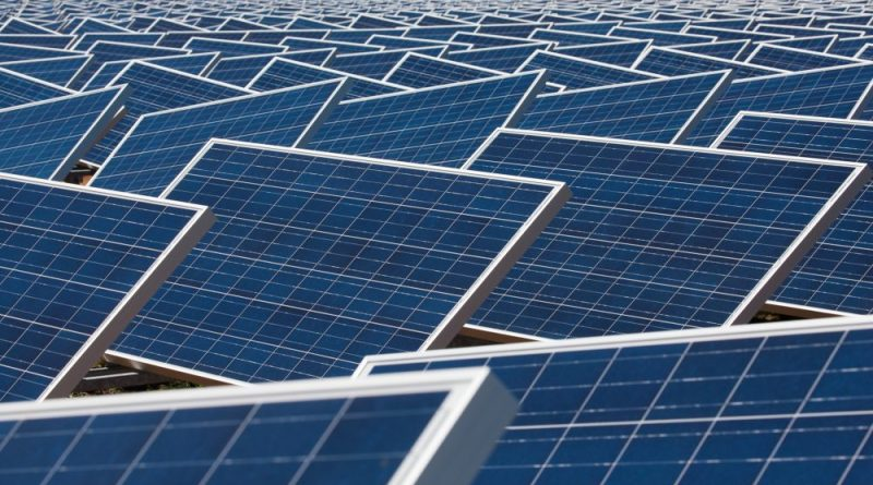 Miles of solar panels in San Antonio
