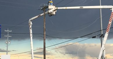 CPS Energy Crew working on storm restoration