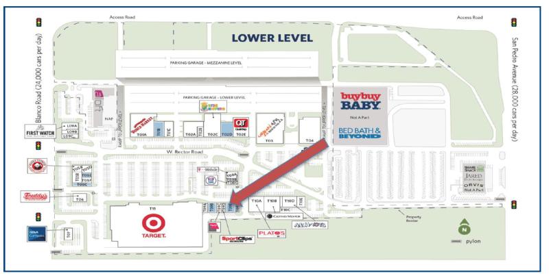 New location map for Northside Customer Service Cenrer