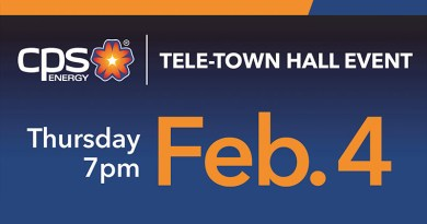Graphics for the Tele Townhall event for CPS Energy