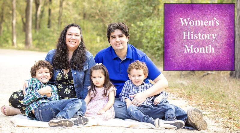 Christina Castilleja and her family