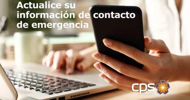 Actualice su información de contacto de emergencia para ayudarnos a ayudarlo