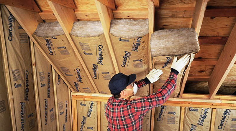 Insulation leads to energy efficiency