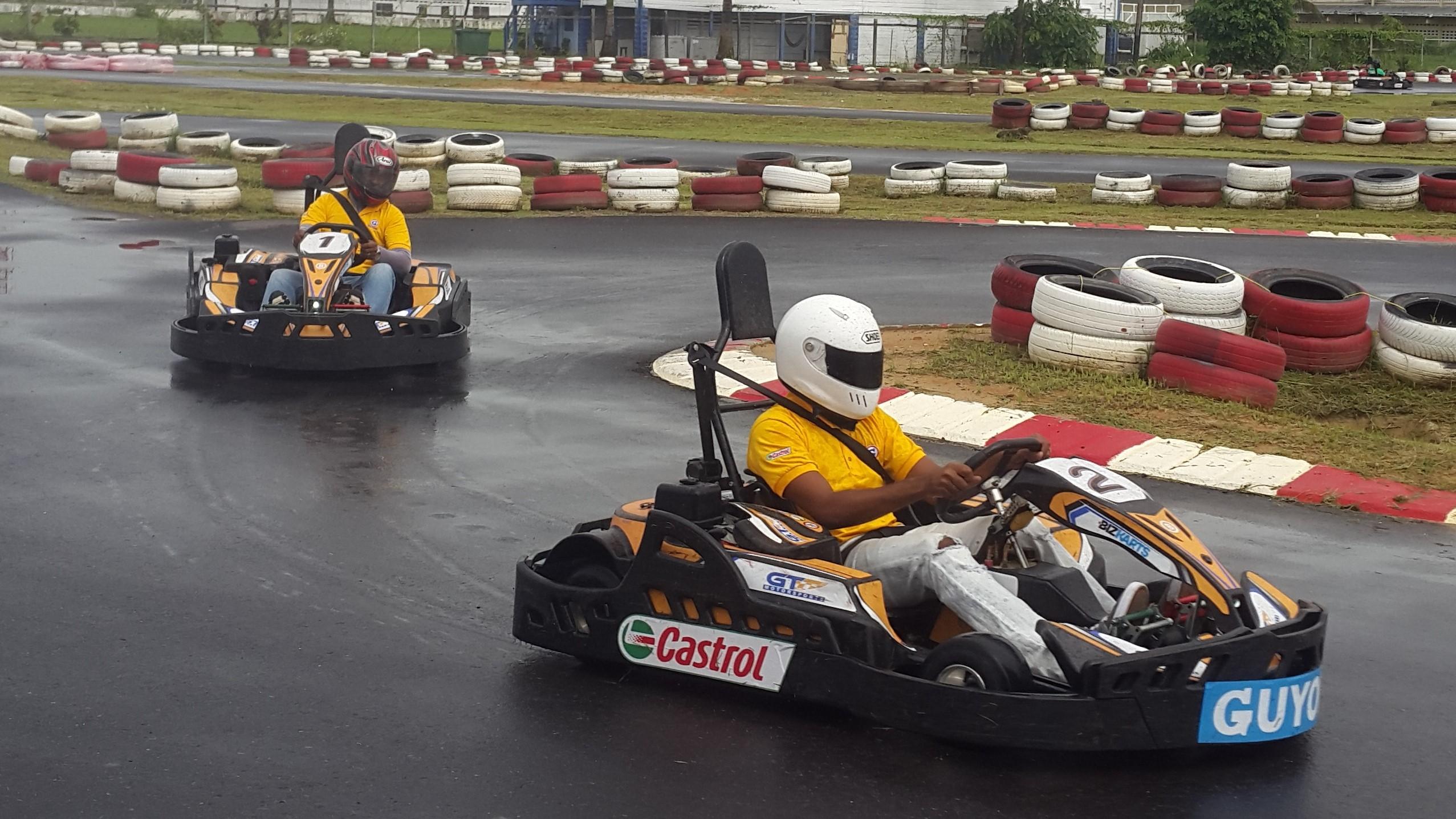 guyana kart UG's 'Race for Pace' meets $4M target with Go kart event – News  guyana kart
