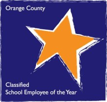 Orange County Classified Employee of the Year logo