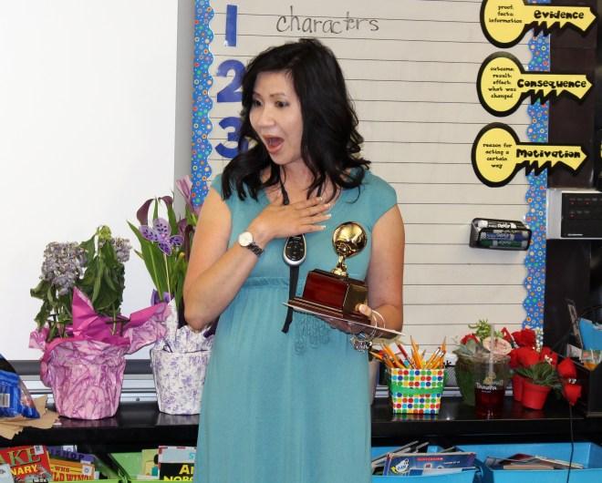Teacher Janis Leach
