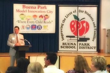 Buena Park Superintendent Greg Magnuson