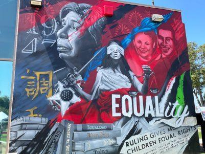 Mural at Westminster High School