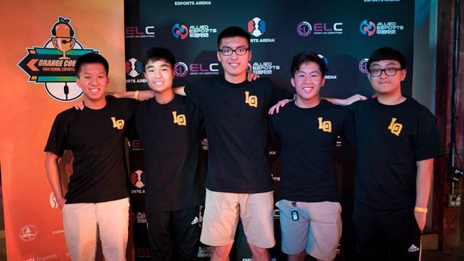 La Quinta High esports team