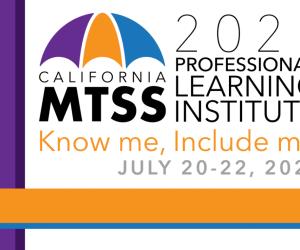 California MTSS PLI logo