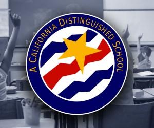 A California Distinguished School logo