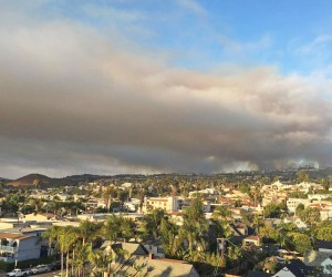 Smoke over Orange County