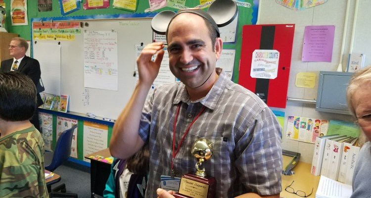 Vincent Saporito of College View Elementary School