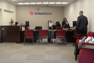 An image of the Union Bank branch at Loara High School in Anaheim