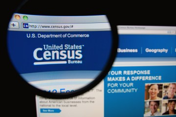 United Stated Census Bureau website