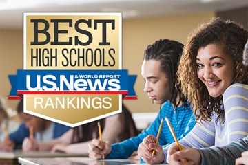 U.S. News Best High Schools logo