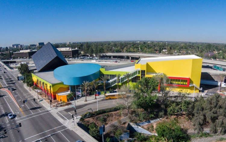 An image of the Discovery Cube in Santa Ana