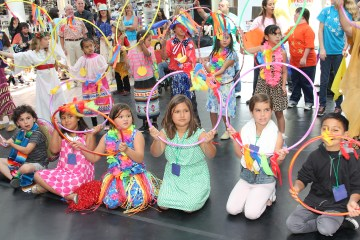 An image of children from the VSA Festival