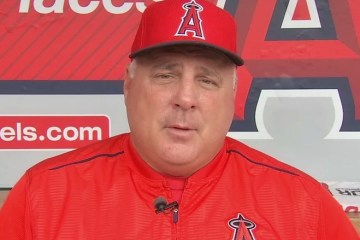A photo of Los Angeles Angels of Anaheim Manager Mike Scioscia
