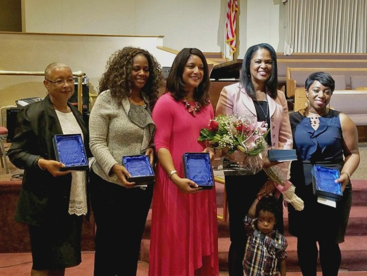 The 2017 recipients of the O.C. Martin Luther King, Jr. Woman of Distinction award