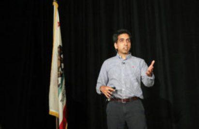 Sal Khan speaks about the Khan Academy.