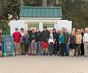New Kiosk for Fullerton Arboretum