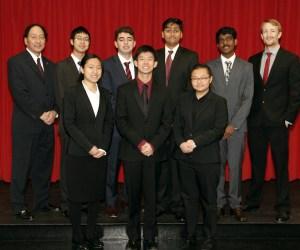 The Woodbridge High School Academic Decathlon team