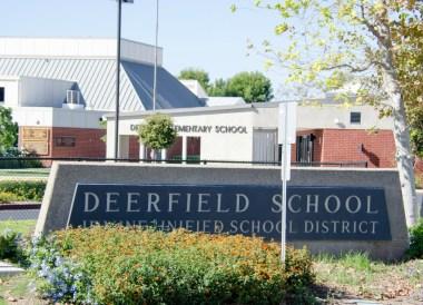 Deerfield Elementary sign