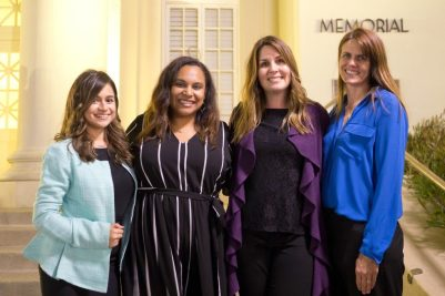 Shannon Bennet, third from left, is celebrated at the annual Chapter Recognition Event