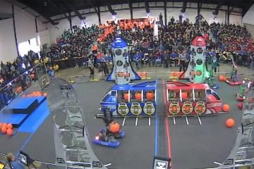robotics contents in an arena