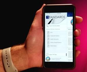 hand and smartphone
