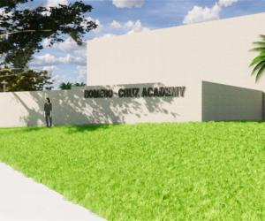 School campus rendering