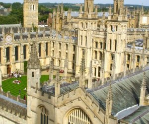 oxford university arial photo