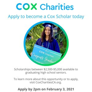 Cov Charities scholarships
