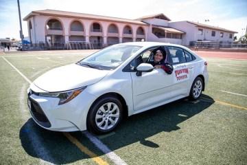2021 TUSD grad wins Toyota