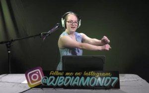 DJ B Diamond —aka Theresa Burnett
