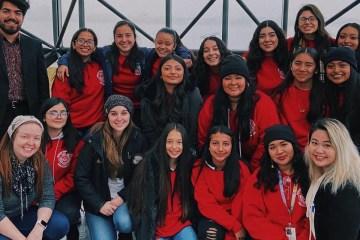 Santa Ana High School Speech and Debate team