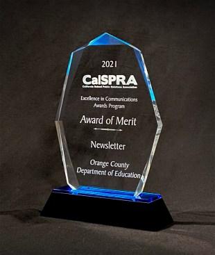 CalSPRA Award of Merit