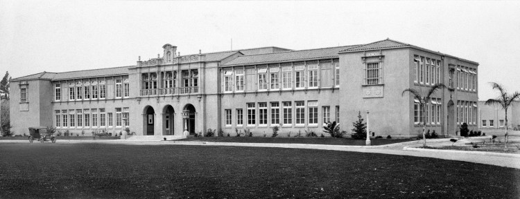 Historic photo of Tustin Union High School