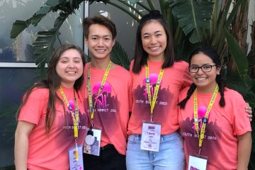 Orange County Youth Council members