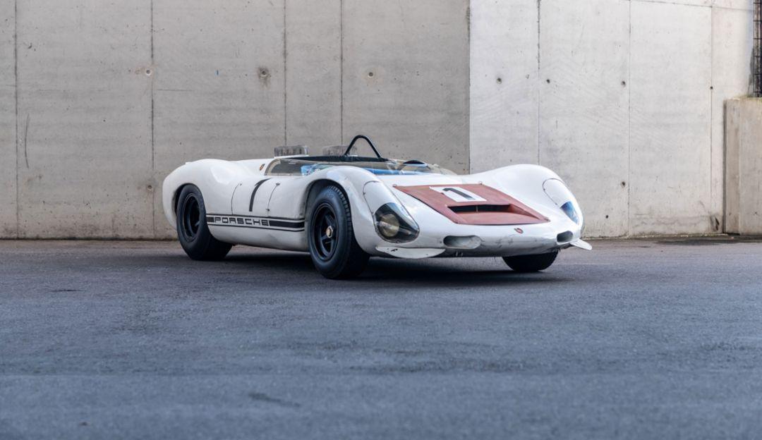 The Porsche Museum preserving the 910/8 Bergspyder